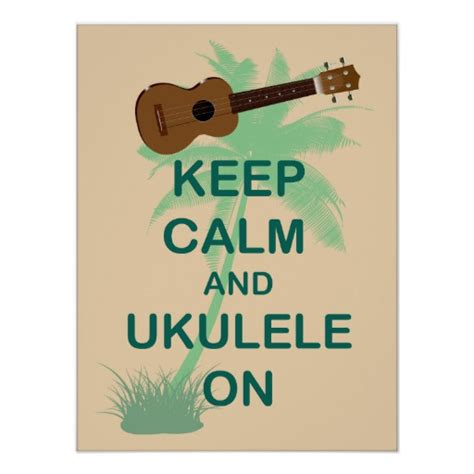 Coca Cola Christmas Ornaments - keep calm and ukulele on unique fun poster zazzle