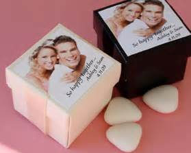 Picture Wedding Favors by Personalized Photo Favor Box Kit