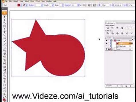tutorial illustrator pathfinder adobe illustrator pathfinder tutorial youtube