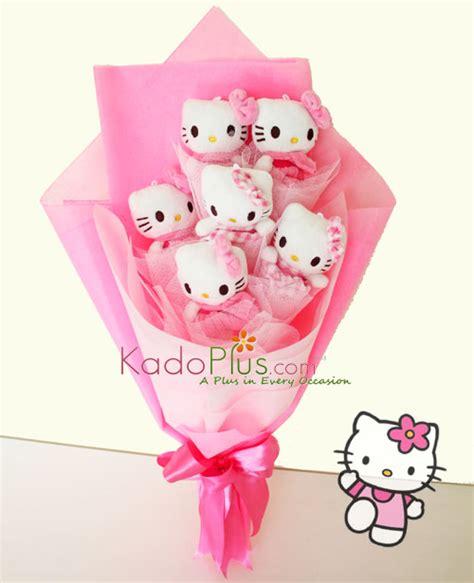 Buket Boneka Hellokitty Buket Bunga Handbouqet hello bouquet toko bunga florist parcel