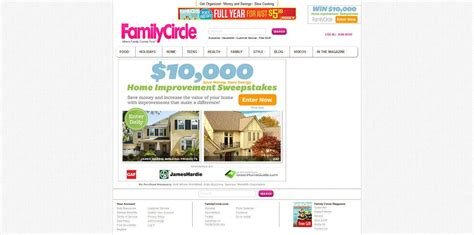 Home Makeover Sweepstakes 2014 - familycircle 10 000 save money save energy home makeover sweepstakes