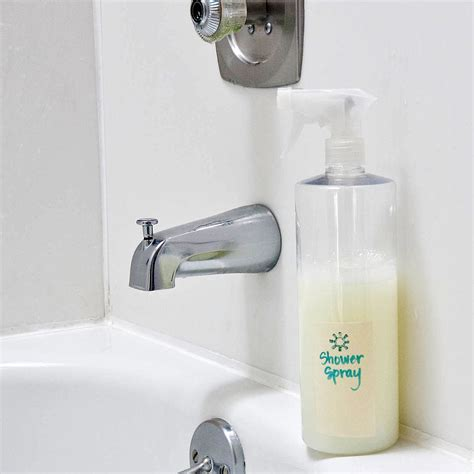 Diy Daily Shower Spray by Diy Daily Use Shower Spray Popsugar Smart Living