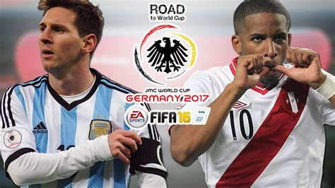 argentina vs per 250 conmebol road to world cup germany