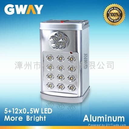 gateway lighting and fans rechargeable emergency light with 5 led spotlights 12x0