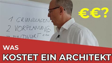Was Kostet Architekt by Was Kostet Ein Architekt Teil 1 2