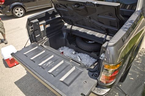 truck bed cooler best tailgating vehicles ever drink galleries paste