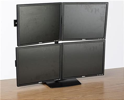 Bracket Stand 4 Monitor monitor stand for desktop for 4 tvs or computer screens