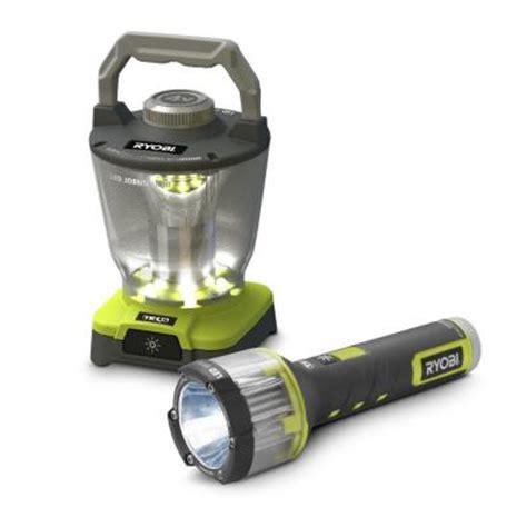 Ryobi Light by Ryobi Tek4 5w Flashlight With Free Area Light At Home