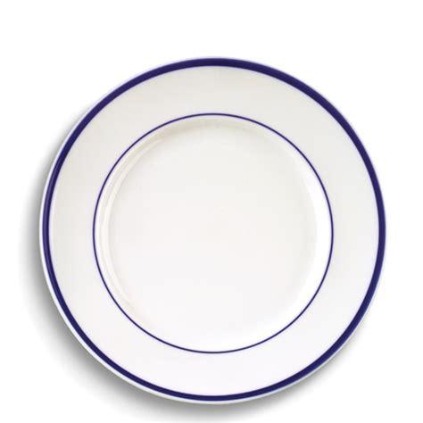 the dinner plates brasserie blue banded porcelain dinner plates williams