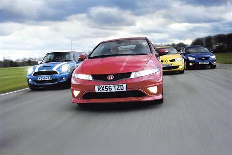 Honda Civic Type R vs Cooper S vs Megane R230 vs Focus ST
