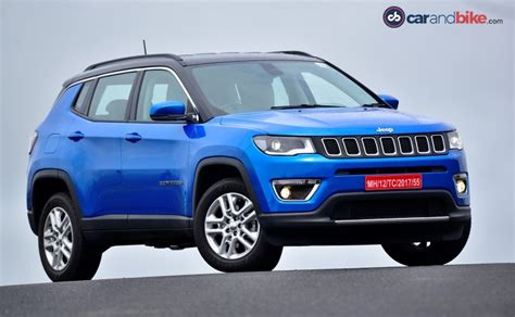 prices for jeeps jeep compass suv pre bookings begin in india ndtv carandbike
