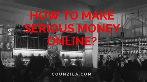 How To Make Serious Money Online - make second income work from home make second income