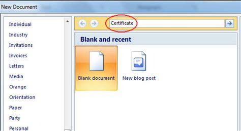 membuat id card word cara cepat dan mudah membuat sertifikat memakai ms word 2007