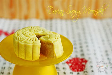 durian snowy mooncake indonesia eats authentic food recipes