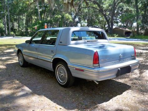 1992 Chrysler New Yorker by Purchase Used 1992 Chrysler New Yorker Salon Only 39k