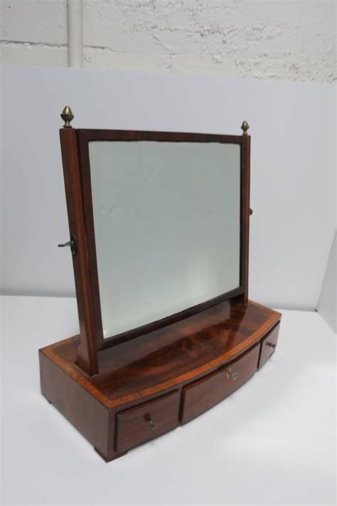 beautiful antique vanity mirror with drawers for sale at