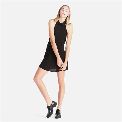 Dress For Withamerican Apparel by Bib Dress Black American Apparel Casual Superbalist