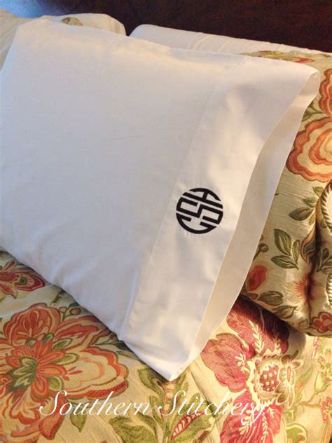 Pillow Cases Etsy by Monogrammed Pillow Cases 2 Pillowcases Initial Pillow Cases