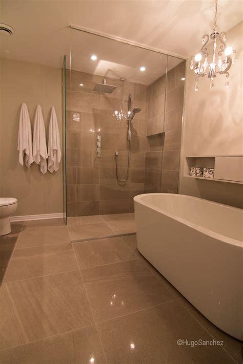 Heated shower floor   Céramiques Hugo Sanchez Inc