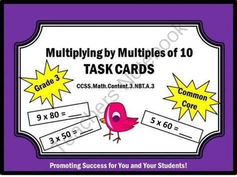 printable number cards multiples of 10 pinterest the world s catalog of ideas