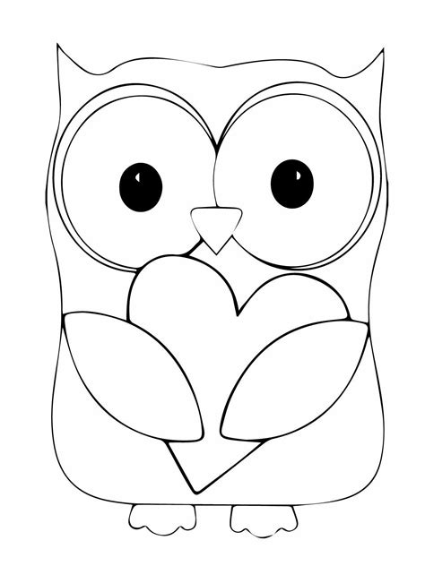 coloring pages of owls to print owl coloring pages