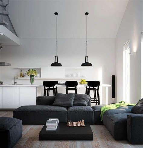monochromatic apartment soggiorno piccolo con angolo cottura foto 3 20 design mag