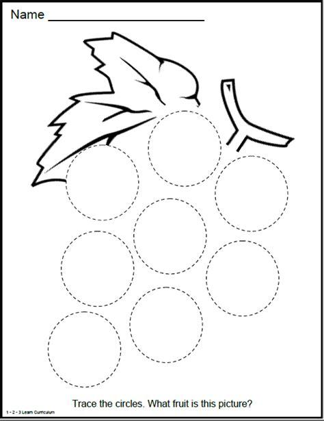 circle coloring pages preschool circle shape activity shapes circles pinterest