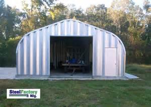 Steel residential metal garage p20x26 two car storage building kit