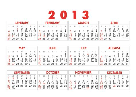 Calendar 2013 Template calendars icon print labs