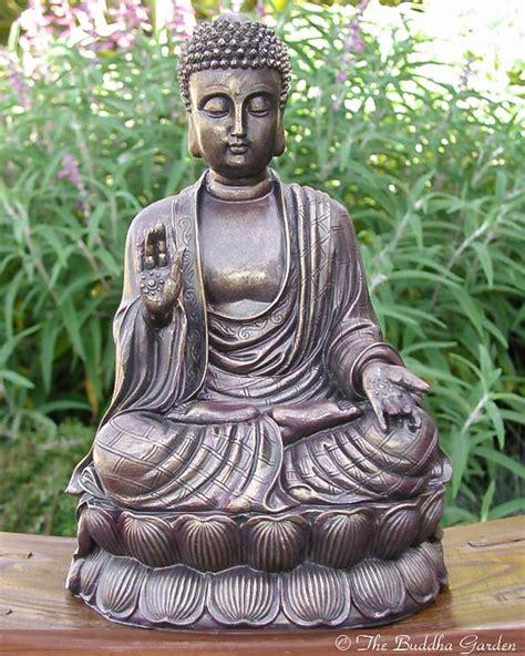 Buddhist Home Decor chinese buddha statue with antique finish the buddha garden