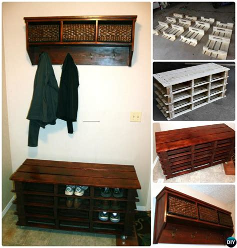 diy shoe storage for entryway 20 best entryway bench diy ideas projects picture