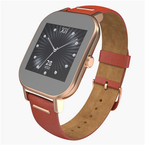 Smartwatch Zenwatch Smartwatch Asus Zenwatch 2 3d Model