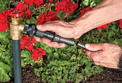 drip irrigation system   garden   home depot