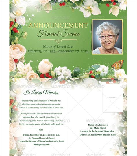 templates for funeral service booklets 8 funeral booklet templates free word pdf docs download