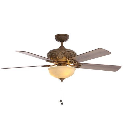 Hton Bay 4 Light Ceiling Fan Hton Bay Ceiling Fans Hton Bay Ceiling Fans Redington Iv Fan In Redroofinnmelvindale