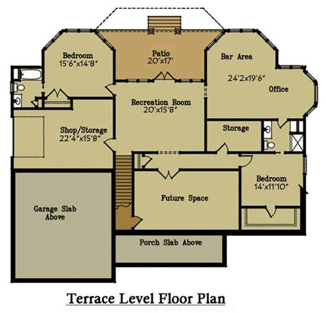 brick house floor plans brick lake house plan with an open living floor plan