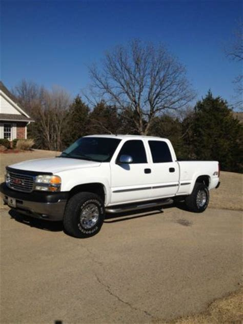 sell used gmc 2500hd 8 1 liter v 8 4 wheel drive