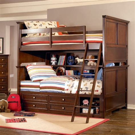 Cool and playful double decker bed for kids home furniture