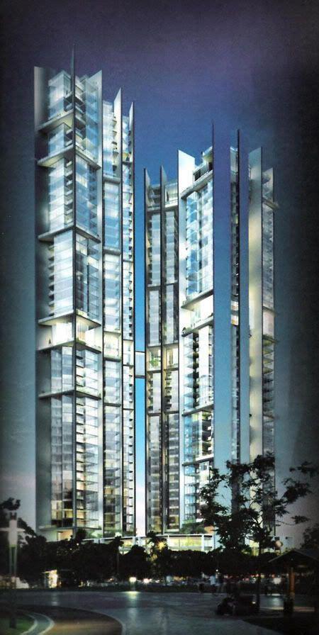 the troika floor plan the troika towers kuala lumpur malaysia by norman