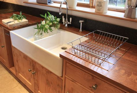 pippy oak shaker country kitchen sinks by