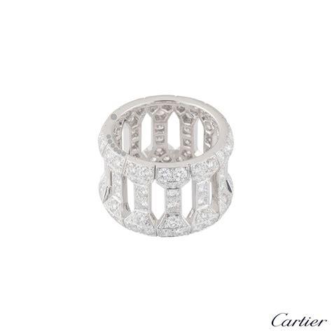 Dress Cartier cartier white gold dress ring rich diamonds of