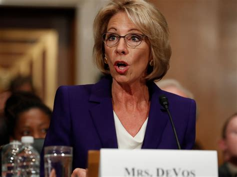 betsy decos education experts say delaying the vote on betsy devos for