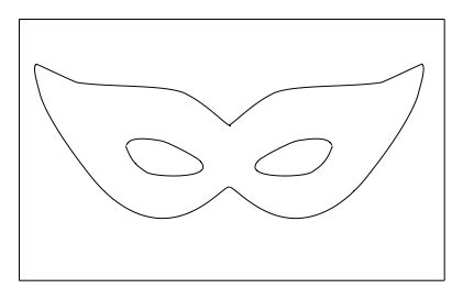 best photos of masquerade mask template mardi gras mask