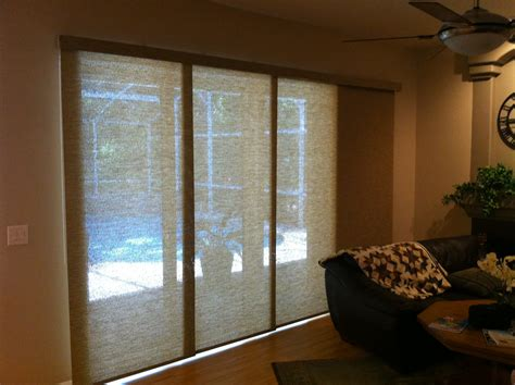 bamboo blinds for sliding glass doors blinds for sliding glass door decofurnish