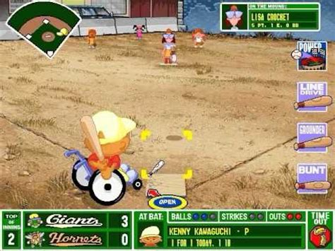 backyard baseball gameplay funnycat tv