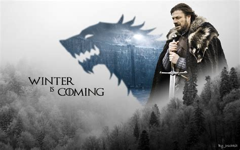 wallpaper wide game of thrones fiction wallpaper hd game of thrones stark wallpaper