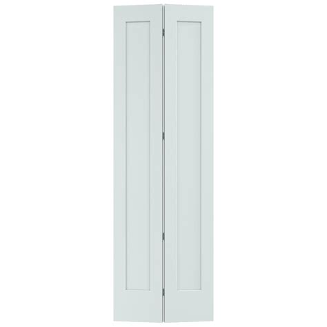 Closet Door Light Jeld Wen 32 In X 96 In Light Gray Painted Smooth Solid Molded Composite Mdf