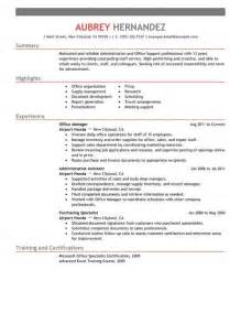 Resume Template For Administrative Position by Admin Resume Exles Admin Sle Resumes Livecareer