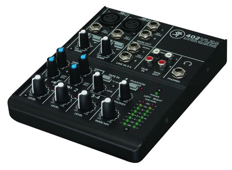 Mixer Audio 2 Channel mackie 402vlz4 4 channel ultra compact mixer compass