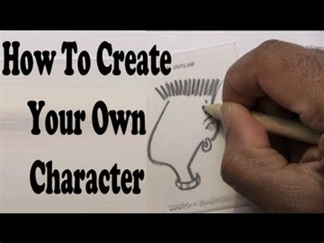 how to start to doodle how to create a character
